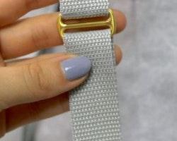 Fast reglerspänne i metall 40 mm - Slider 1,5 inch