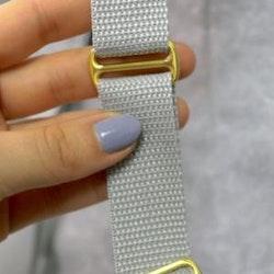 Fast reglerspänne i metall 25 mm - Slider 1 inch