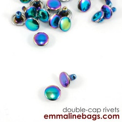 Emmaline Small Double-cap nitar 8*6 mm