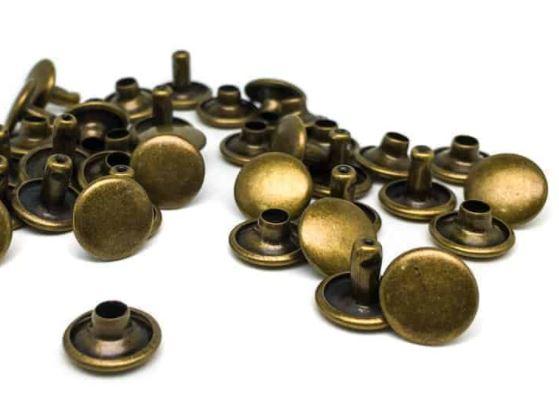 Double cap nitar 9*6 mm, 20-pack