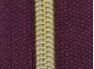 Dragkedja Nr 5 - Guldspiral i 10 färger