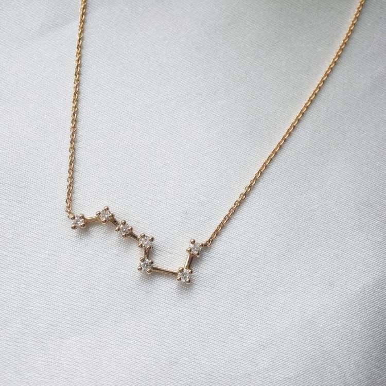"""""""Big Dipper"""" necklace"""
