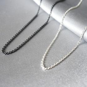 Silver Chain 45-50cm