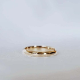 """Castor"" 3.5mm gold ring"