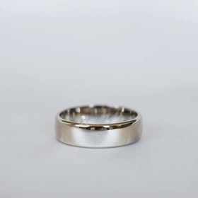 """Uranus"" 6mm gold ring"