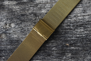 Gold mesh / milanese watch bracelet 18mm 20mm 22mm