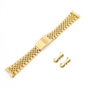 Jubilee bracelet gold 19mm 20mm 22mm