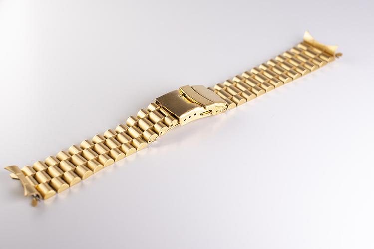 Presidentlänk guld 20mm 22mm