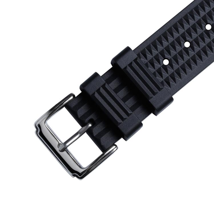 Waffle klockarmband av gummi 20mm 22mm