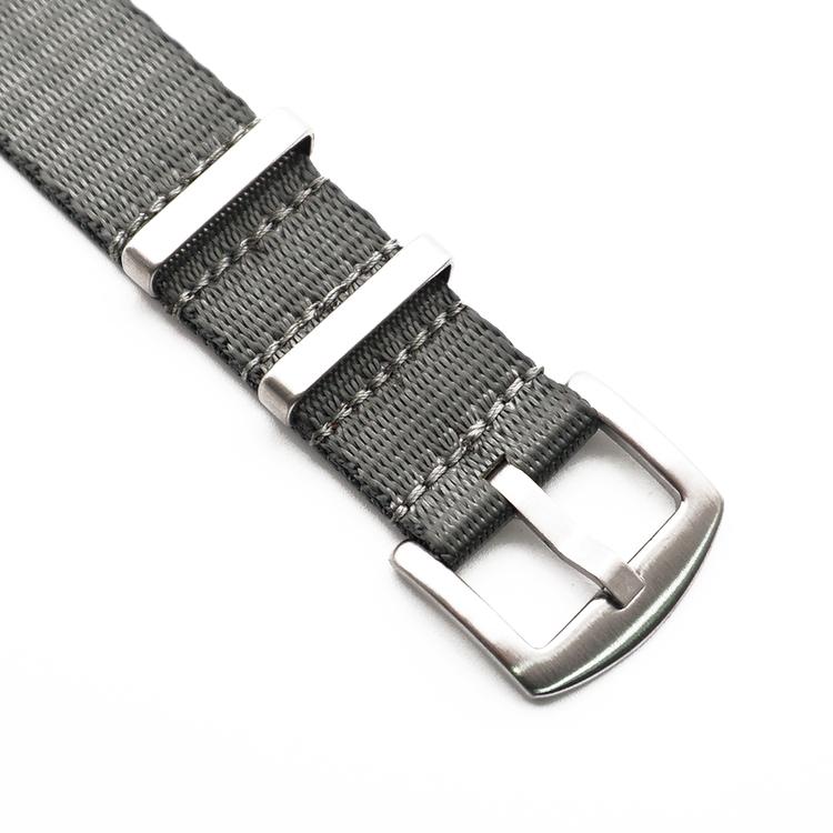 Seatbelt nato grå 20mm 22mm