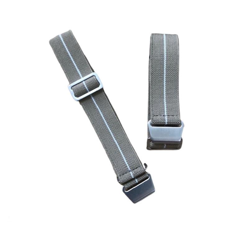 Khaki elastiskt klockarmband 18mm 20mm 22mm