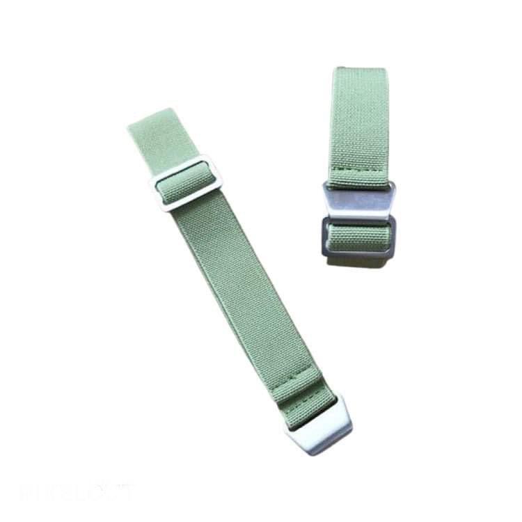 Grönt elastiskt klockarmband 18mm 20mm 22mm