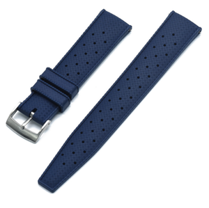 Tropic klockarmband av blått FKM gummi 20mm 22mm