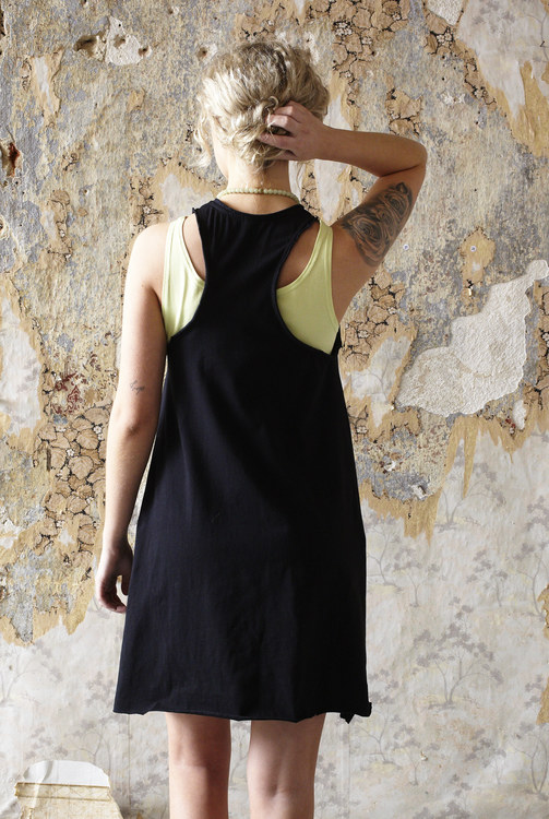 Lakshmi singlet long lime