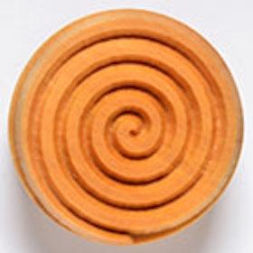 Stämpel Spiral 4 cm