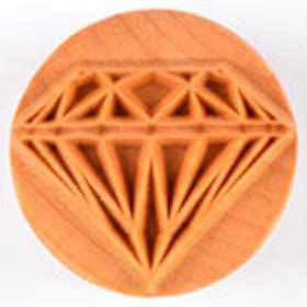 Stämpel Diamond 4 cm