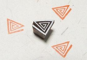 Stämpel Triangles