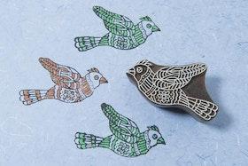 Stämpel Flying Bird