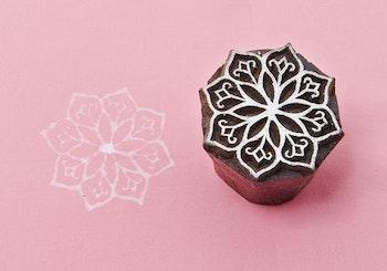 Stämpel Lotus flower