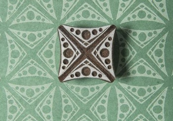Stämpel Dots square