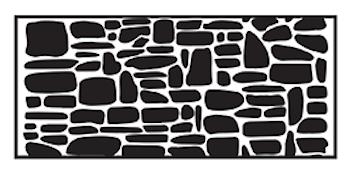 Liten handrulle Stone wall