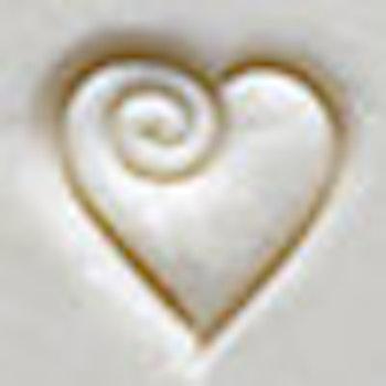Ministämpel Hjärta 1