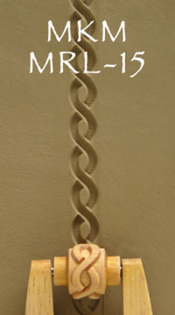 Liten mönsterrulle Spiral