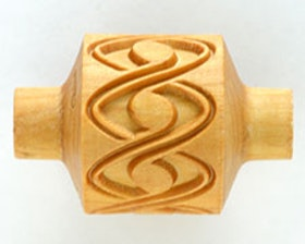 Mönsterrulle Spiral