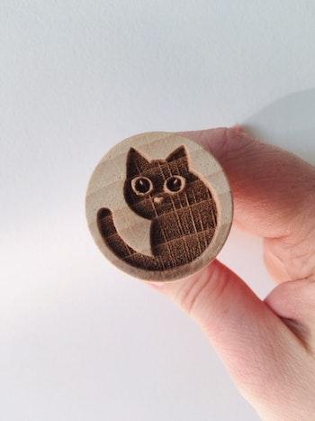 Stämpel Katt
