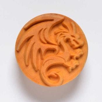 Stämpel Dragon 4 cm