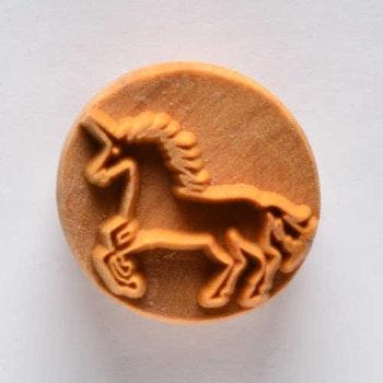 Stämpel Unicorn 4 cm