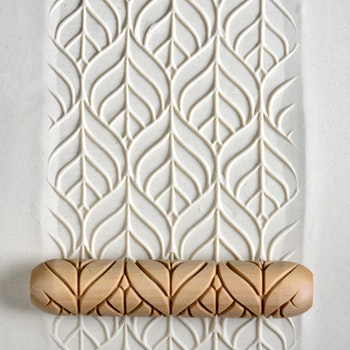 Handrulle Art Nouveau Leaf