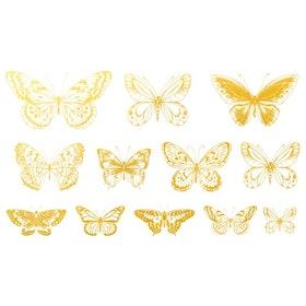 Dekal Fjärilar