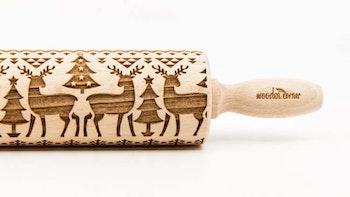Mönsterkavel Reindeer