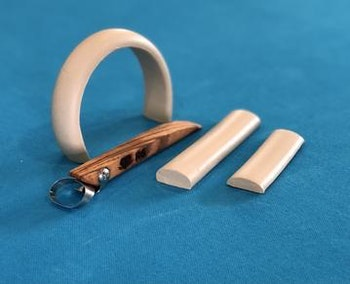 R6 Basic Oval Handheld Clay Extruder