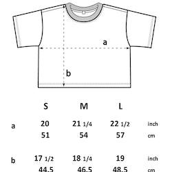 NYHET! Stentvättad kort t-shirt