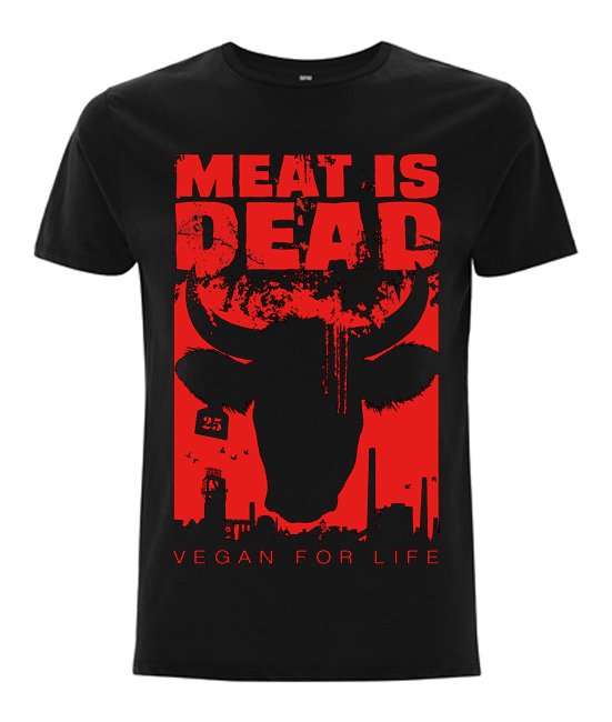 Meat is dead t-shirt
