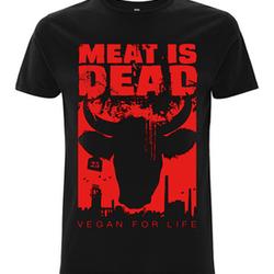 Meat is dead t-shirt (S)