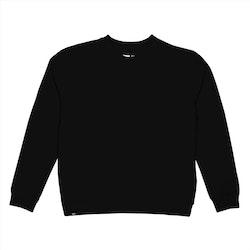 NYHET! Svart basic sweater
