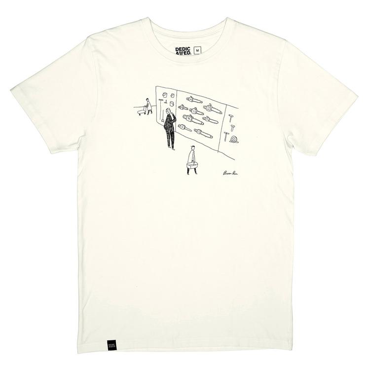 Chainsaw shopper t-shirt