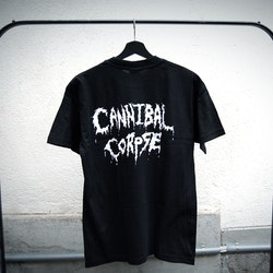 Cannibal corpse t-shirt svart (M)