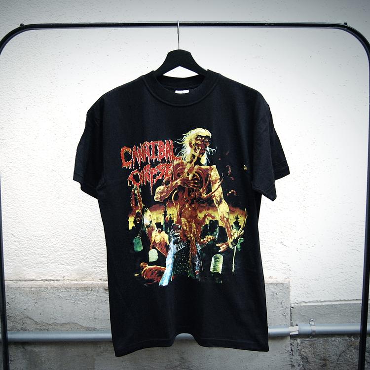Cannibal corpse t-shirt svart (M)