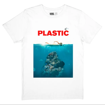 Plastic t-shirt (XL)