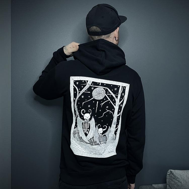 NYHET! Nattravn hoodie