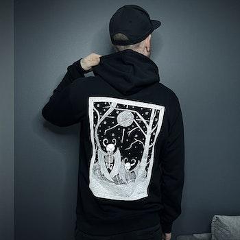 Nattravn hoodie