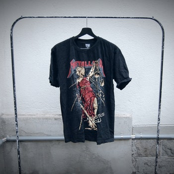 NY! Metallica t-shirt (L)