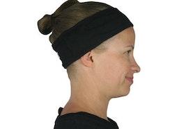 Sport hårband för cochlear barn/vuxen - Svart