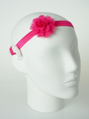 EasyFlex hårband för hörapparat/cochlear med blomma
