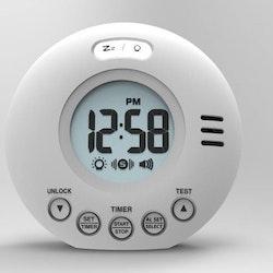 Wake'n Shake Voyager digital reseväckarklocka med vibration