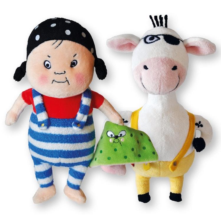 Ajja och Bajja - Båda dockorna